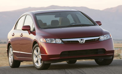 The 2006 North American Car Of Year Is Honda Civic Result Voting By A Jury 49 Independent Automotive Journalists Award Widely