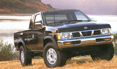 1995 Nissan Pickup Review