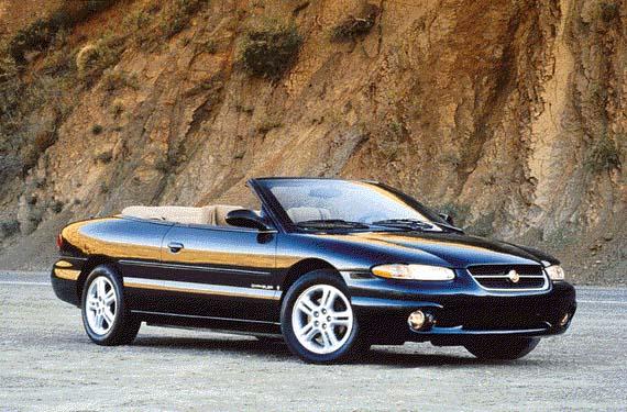 Chrysler LeBaron 3rd generation 3.0 MT convertible (1990–1996)  |1996 Lebaron Convertible