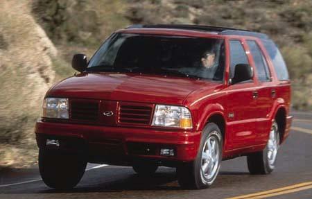 1998 Oldsmobile Bravada Review