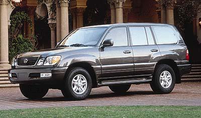 1999 Lexus LX 470 Review