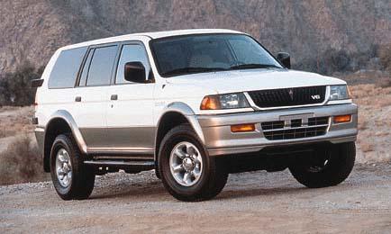 1999 Mitsubishi Montero Sport Review