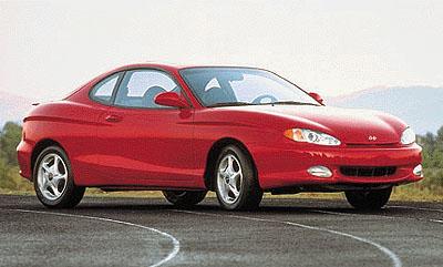 1999 Hyundai Tiburon Review