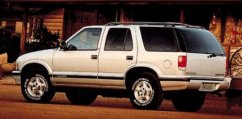 1997 Chevrolet Blazer Review