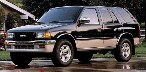 1997 Isuzu Rodeo Review