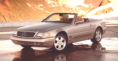 2000 Mercedes-Benz SL