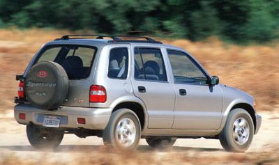 2000 Kia Sportage Review