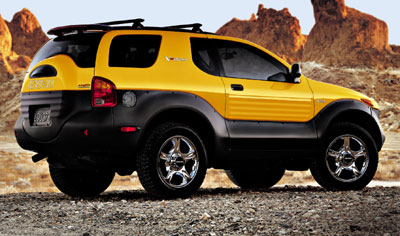 2001 Isuzu Vehicross Review