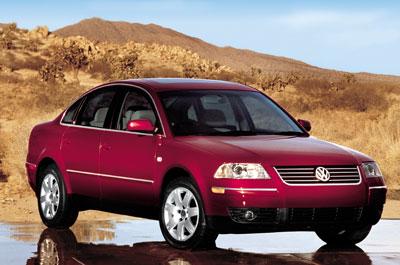 2001 Volkswagen Passat Review