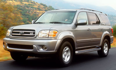 2002 toyota sequoia review. Black Bedroom Furniture Sets. Home Design Ideas