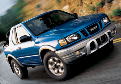 2002 Isuzu Rodeo Review