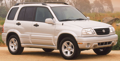2002 Suzuki Vitara Review
