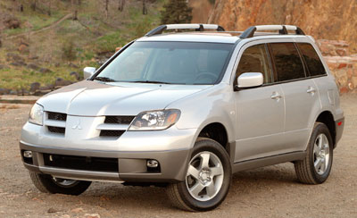 2003 mitsubishi outlander review