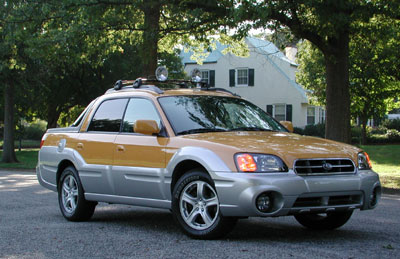 2003 Subaru Baja Review