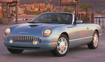 2003 Ford Thunderbird Review