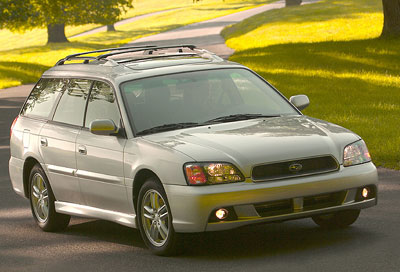 2003 Subaru Legacy Outback Review