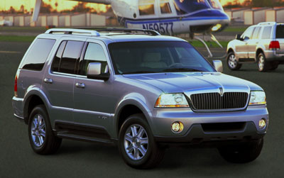 2004 Lincoln Aviator Review
