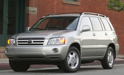 2004 Toyota Highlander Review