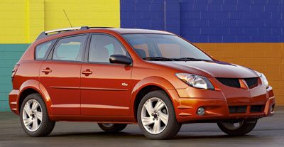 2004 Pontiac Vibe Review