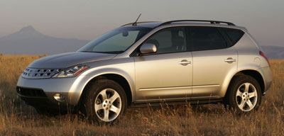 Toyota Highlander Cargo Space >> 2005 Nissan Murano Review
