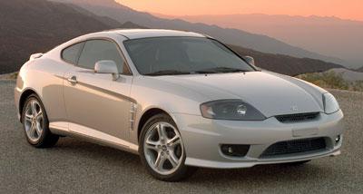 2005 Hyundai Tiburon Review