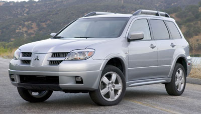 2006 mitsubishi outlander review. Black Bedroom Furniture Sets. Home Design Ideas