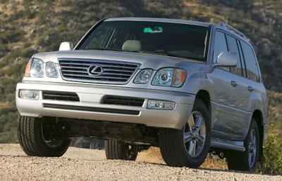 2006 Lexus Lx 470 Review