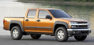 Bed Size Of  Chevy Colorado