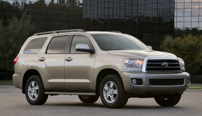 2008 Toyota Sequoia Review