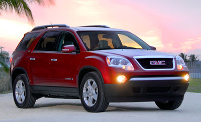 Used Cadillac Suv >> 2008 GMC Acadia Review