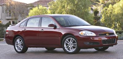 2008 Honda Accord Sedan >> 2008 Chevrolet Impala Review