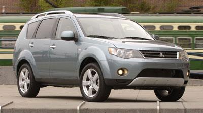 2008 Mitsubishi Outlander Review