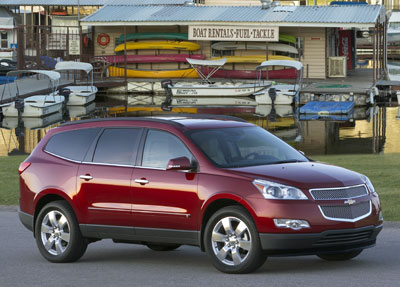 2009 chevrolet traverse review. Black Bedroom Furniture Sets. Home Design Ideas