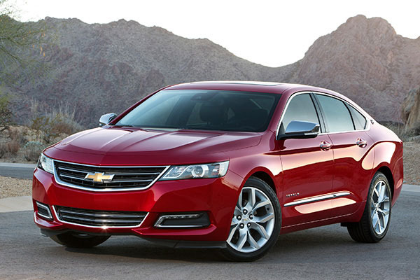 Used 2014 Chevy Impala >> 2015 Chevrolet Impala Review