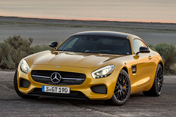 2016 Mercedes-Benz AMG GT Review