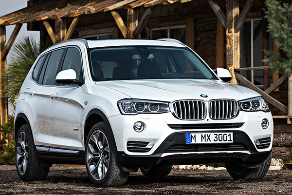 2016 BMW X3 Review