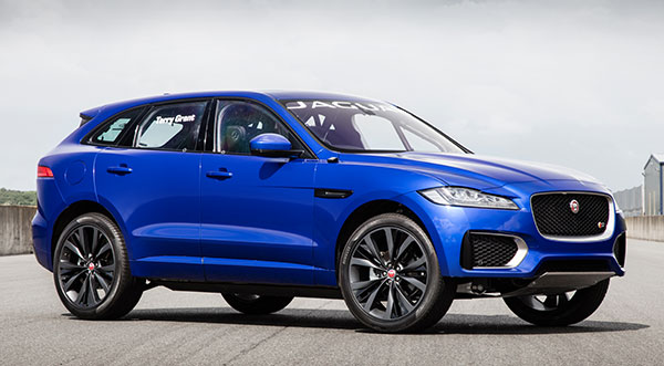 2017 Jaguar F Pace Review