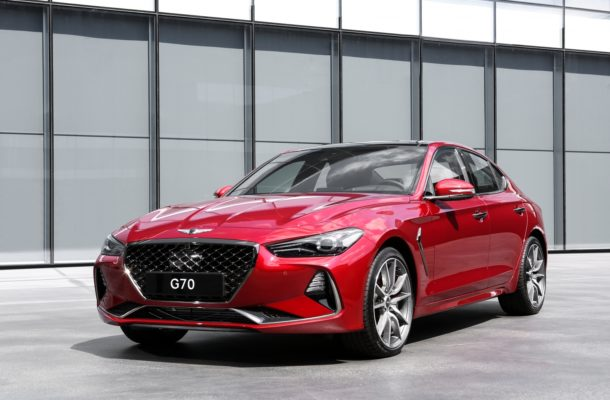 2019 Genesis G70 Arrives In New York With 6 Speed Manual